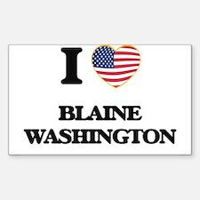 I love Blaine Washington Decal
