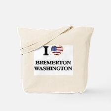 I love Bremerton Washington Tote Bag