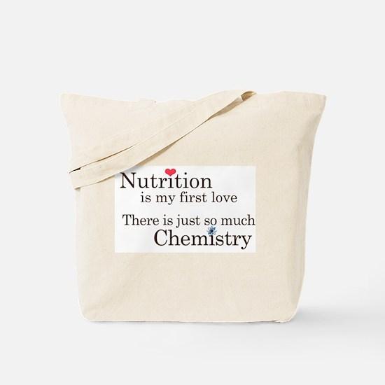 Nutrition Chemistry Tote Bag