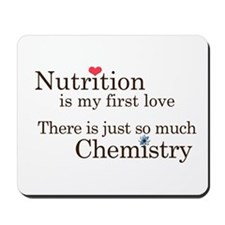 Nutrition Chemistry Mousepad
