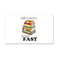 Read Fast Car Magnet 20 x 12