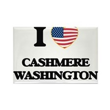 I love Cashmere Washington Magnets