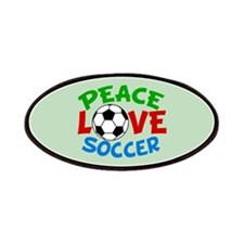 Love Soccer Patch