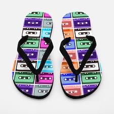 cassettes Flip Flops