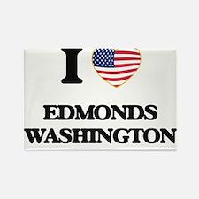 I love Edmonds Washington Magnets