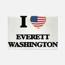 I love Everett Washington Magnets