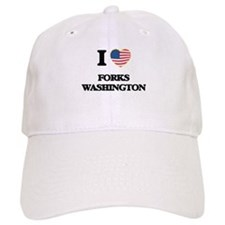 I love Forks Washington Cap