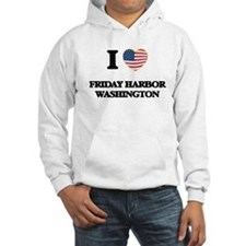 I love Friday Harbor Washington Hoodie