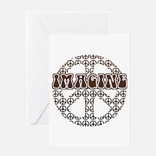 World Peace Imagine Greeting Card