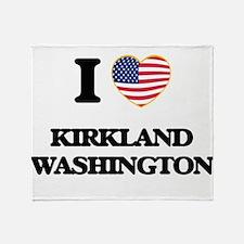 I love Kirkland Washington Throw Blanket