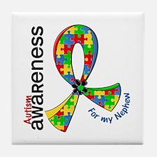 For My Nephew Autism Tile Coaster