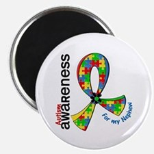 """For My Nephew Autism 2.25"""" Magnet (10 pack)"""