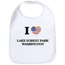 I love Lake Forest Park Washington Bib