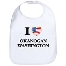 I love Okanogan Washington Bib