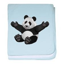 3D Fluffy Panda Bear baby blanket
