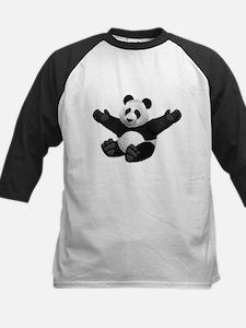 3D Fluffy Panda Bear Baseball Jersey