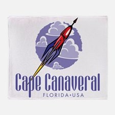 Cape Canaveral Throw Blanket