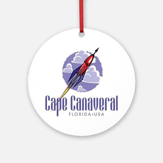 Cape Canaveral Ornament (Round)
