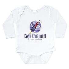 Cape Canaveral Long Sleeve Infant Bodysuit