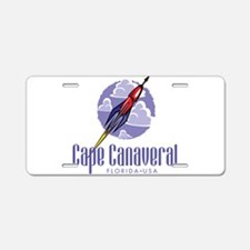 Cape Canaveral Aluminum License Plate