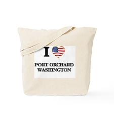 I love Port Orchard Washington Tote Bag
