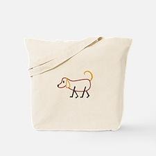 Stick Dog Tote Bag