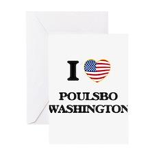 I love Poulsbo Washington Greeting Cards
