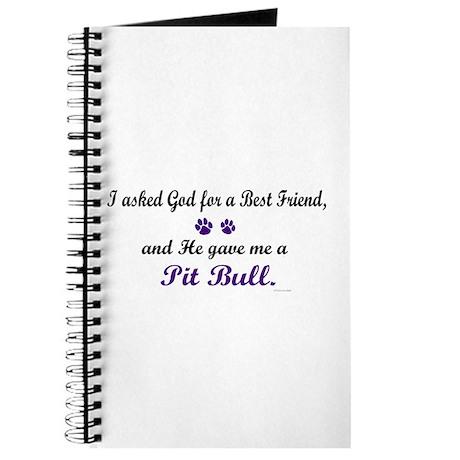 God Gave Me A Pit Bull Journal