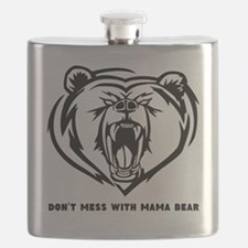 Dont Mess with Mama Bear Flask