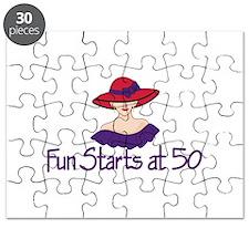 Fun Starts at 50 Puzzle