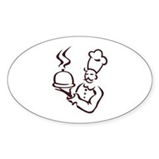 Chef Outline Decal