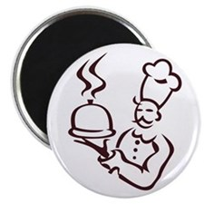 Chef Outline Magnets
