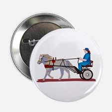 """Horse and Cart 2.25"""" Button (10 pack)"""