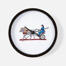 Horse and Cart Wall Clock