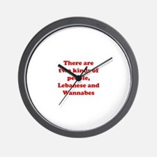 Two Kinds of People Wall Clock