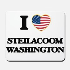 I love Steilacoom Washington Mousepad