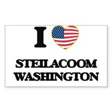 I love Steilacoom Washington Decal