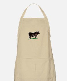 Black Angus Steer Apron
