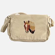 Haflinger Horse Messenger Bag