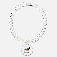 Clydesdale Horse Bracelet