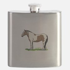 Gypsy Vanner Flask