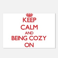 Keep Calm and Being Cozy Postcards (Package of 8)