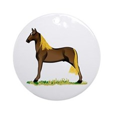 Tennessee Walking Horse Ornament (Round)