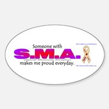 SMA Pride Oval Decal