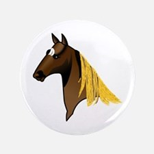 Tennessee Walking Horse Head Button