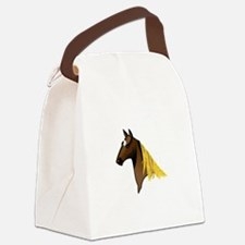Tennessee Walking Horse Head Canvas Lunch Bag