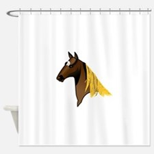 Tennessee Walking Horse Head Shower Curtain