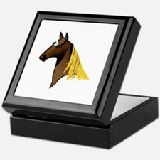Tennessee Walking Horse Head Keepsake Box