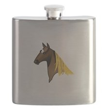 Tennessee Walking Horse Head Flask