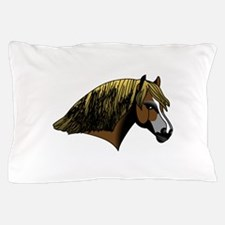 Welsh Pony #2 Head Pillow Case